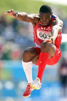 Spotlight on Olympian Samyr Laine.