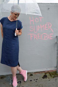 schneidernmeistern #hotsummerfreebie only in AUGUST for free -  Sommerkleid, dress