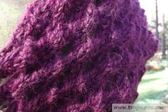 Autumn Berry Hand Knitted Cowl Pattern