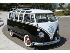 Future car volkswagen bus 21 window skyroof  whitewalled tires