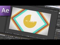 18. After Effects - Animação Feliz de Shapes com Textos! =o) - YouTube