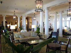 Moana Surfrider, Waikiki Heavenly Places, Wonderful Places, Great Places, Oahu Hawaii, Hawaii Travel, Vacation Destinations, Vacations, Moana Surfrider, Hotel Lobby