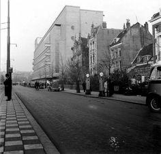 Rotterdam - Schiedamsesingel, met 'De Bijenkorf' in 1938