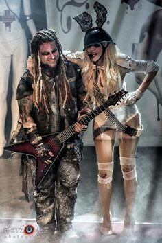 Maria Brink and Chris Howorth / In This Moment