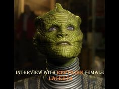 Interview with Reptilian female Lacerta (With Clear Audio and Subtitles) - YouTube
