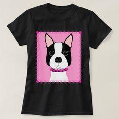 Boston Terrier T-Shirt - dog puppy dogs doggy pup hound love pet best friend