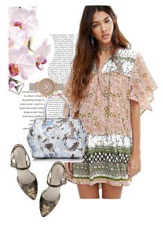 """dress"" by masayuki4499 ❤ liked on Polyvore featuring Raga, Anne Klein and Olivia Burton"