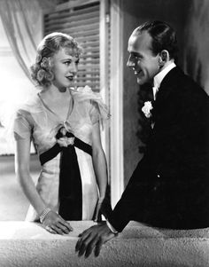 Ginger Rogers and Fred Astaire in 'The Gay Divorcee.'