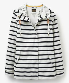 Another great find on #zulily! Black Stripe Coast Raincoat - Women #zulilyfinds
