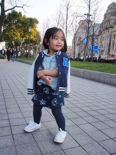 Enjoying the Shanghai weather.  #kidsootd #kidsfashion #fashionkids #zarakids #cottononkids
