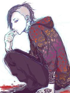 Uta from Tokyo Ghoul, one of my favourite characters...really love his look!