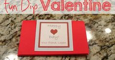 Looking for a way to dress up those candy valentine cards? How about these adorable Fun Dip Valentines? Last year my son picked out Fun D...