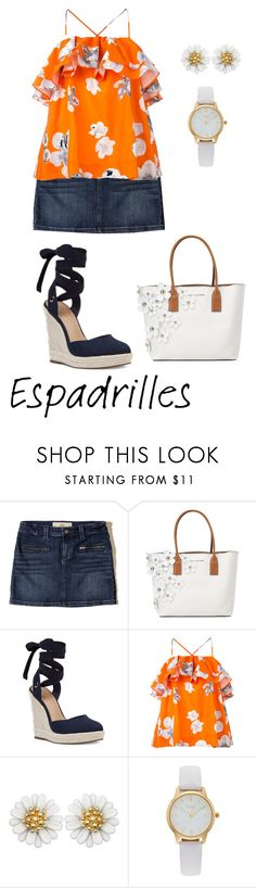 """""""Untitled #2292"""" by nadia-n-pow on Polyvore featuring Hollister Co., Marc Jacobs, Nine West, MSGM, Vivani and espadrilles"""