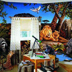 Jungle Mural BZ9103M MP4962M