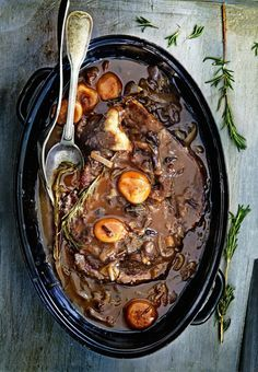 E-mail - nicole spillebeen - Outlook Meat Recipes, Slow Cooker Recipes, Cooking Recipes, Delicious Magazine, Happy Foods, Slow Food, Winter Food, Pasta, No Cook Meals