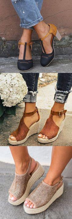 Women/'s Straw Braid Wedge High Heels Summer Boho Sandals Rainbow Platform Shoes