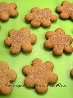 Μπισκότα κανέλας με μέλι και μαύρη ζάχαρη - cretangastronomy.gr