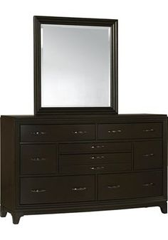 Havertys - Asher Dresser with Mirror