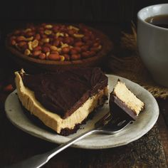 Low-carb peanut butter pie.