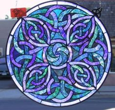I LOVE this one! Celtic knots rock and these are beautiful colors together