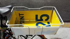Basket liner from Coroplast signage