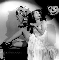 """""""I'm sorry Mr. Jack-O-Lantern it doesn't look like Mr. Devil Face is interested in a little three way fun this evening!""""  Happy Hallowe'en!"""