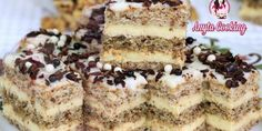 Romanian Desserts, Delicious Deserts, Food Cakes, Chocolate Cupcakes, Homemade Cakes, Creative Food, Coco, Nutella, Cake Recipes