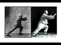 A side-by-side slideshow of Yang Cheng Fu and Chen Wei Ming performing the Yang style 108 form.
