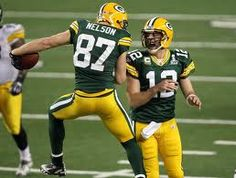 Jordy Nelson and A-Rog