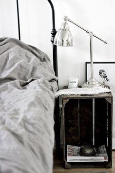 The quest for the perfect bedside table