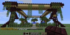 elvish garden thingy Minecraft Project