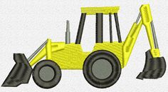 Digger Embroidery Design by Johann Esteban Jaimes | Embroidery Pattern