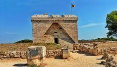 Spaziergang zum Castell de sa Punta de n'Amer