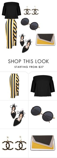 """""""casual"""" by seldy-enes ❤ liked on Polyvore featuring STELLA McCARTNEY, TIBI, Chanel, âme moi, romwe, polyvorecontest, zaful and shein"""