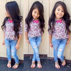 I can't wait for my little girl's hair to be this long. I know this is exactly what it will look like!!