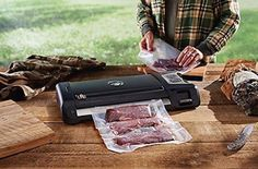 The NEW FoodSaver® GameSaver® Big Game™ GM710 Food Preservation System #Foodsaver