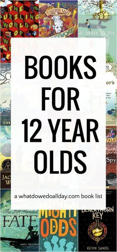 Best books for 12 year olds. Good for both boys and girls.