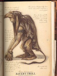 A female Bauer's Troll (Vorax baverensis)