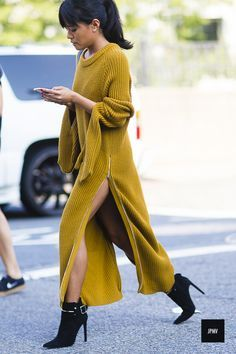 More of the Best Street-Style Looks From New York Fashion Week New York Fashion, Fashion 2017, Look Fashion, Fashion Outfits, Womens Fashion, Fashion Trends, Fall Fashion, City Fashion, Urban Fashion