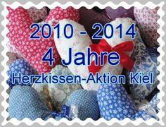Die Herzkissen-Aktion Kiel hat Geburtstag. In 4 Jahren haben wir gemeinsam viel bewegt.  http://herzkissenaktionkiel.blogspot.de/