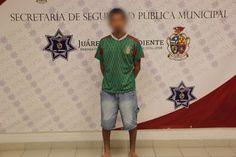 Detienen a sujeto en Juárez por golpear a su esposa | El Puntero