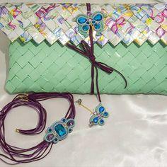 Candy wrapper bags  borsa di carta by mariella di miceli unique accessori