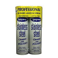 Sprayway® Stainless Steel Cleaner - 2/15oz can - Sam's Club...............THE BEST STUFF EVER!!! CLEANER & POLISH...WOOD AND SS