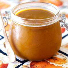 This delicious spread is Autumn in a jar. Perfect for your morning toast!