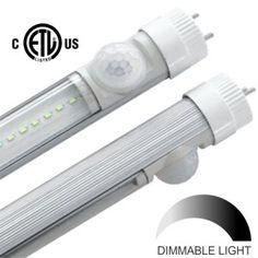 led tube with sensor etl