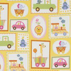 Dena Fishbein - Happi - Circus Frames in Yellow
