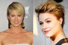 Dois lindos cortes de cabelos curtos  #cabeloscurtos #pelocorto #shorthaircut