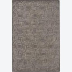 @Overstock.com - Hand-tufted Mandara Geometric Grey Wool Rug (5' x 7'6) - A thick, soft pile highlights this area rug. Hand-tufted in India using premium quality wool, this area rug features a beautiful geometric design in shade of grey.  http://www.overstock.com/Home-Garden/Hand-tufted-Mandara-Geometric-Grey-Wool-Rug-5-x-76/6713213/product.html?CID=214117 $204.99