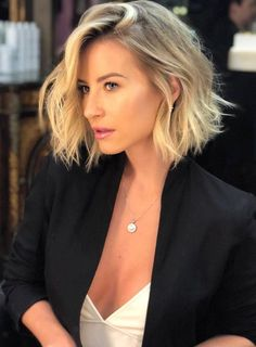 "You should go with the Messy bob hairstyles. To have this look you should take a look into the Messy Bob Hairstyles Ideas That Make You Say ""Wow! 2020 trend 10 Cute Messy Bob Hairstyles And Haircuts Ideas For 2020 Blonde Bob Hairstyles, Bob Hairstyles For Fine Hair, Messy Short Hairstyles, Short Messy Bob, Messy Bob Haircuts, Bob Hairstyles How To Style, Messy Hairstyle, Medium Hairstyle, Cute Haircuts"