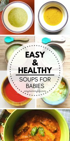 20 Easy Soup Recipes For Babies and Toddlers. These include yummy lentil soup recipe and chicken soup recipe for baby and toddler. #easyrecipes #babyrecipes #weaningfoods #babyledweaning #starterfoods #firstfoods #soupsforbaby